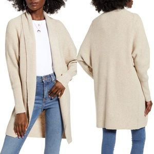 Leith | Dolman Sleeve Cardigan in Natural